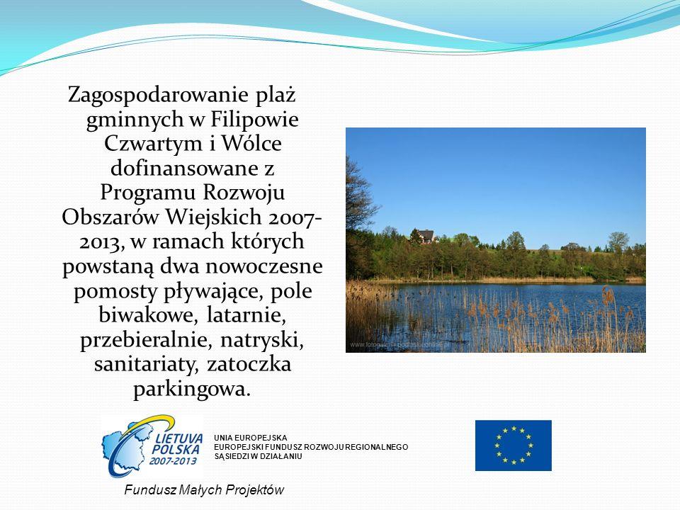 UNIA EUROPEJSKA EUROPEJSKI FUNDUSZ ROZWOJU REGIONALNEGO SĄSIEDZI W DZIAŁANIU Atrakcyjna baza agroturystyczna gminy Filipów.