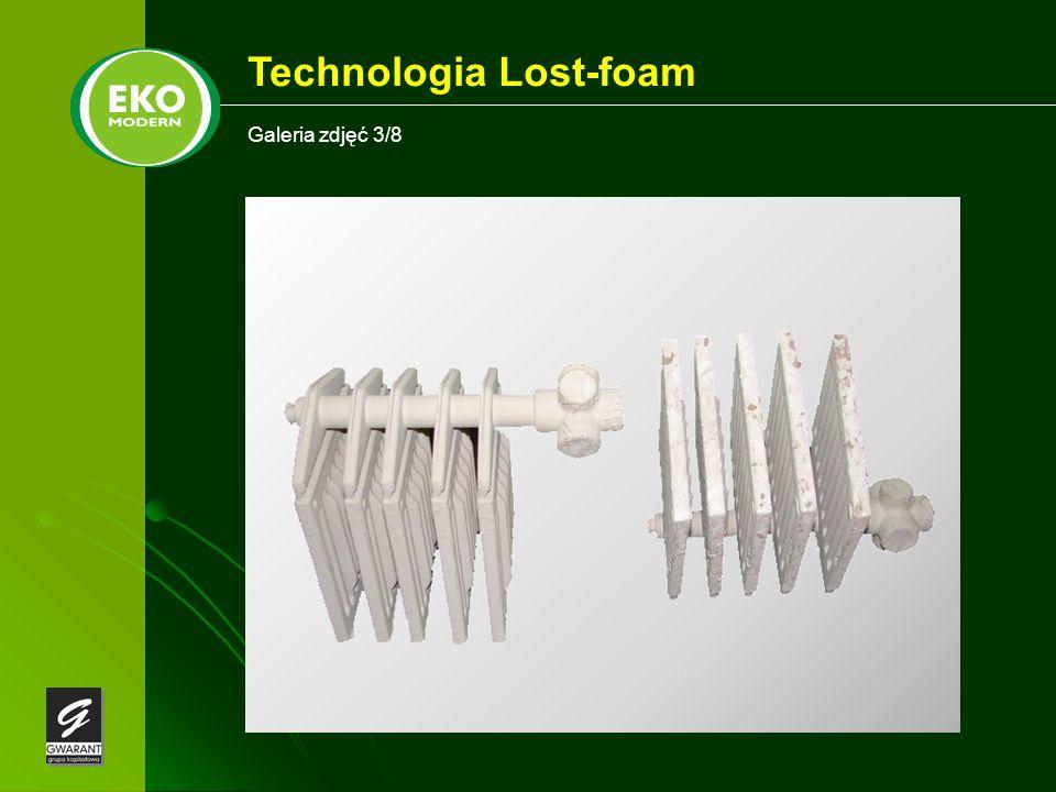 Galeria zdjęć 3/8 Technologia Lost-foam