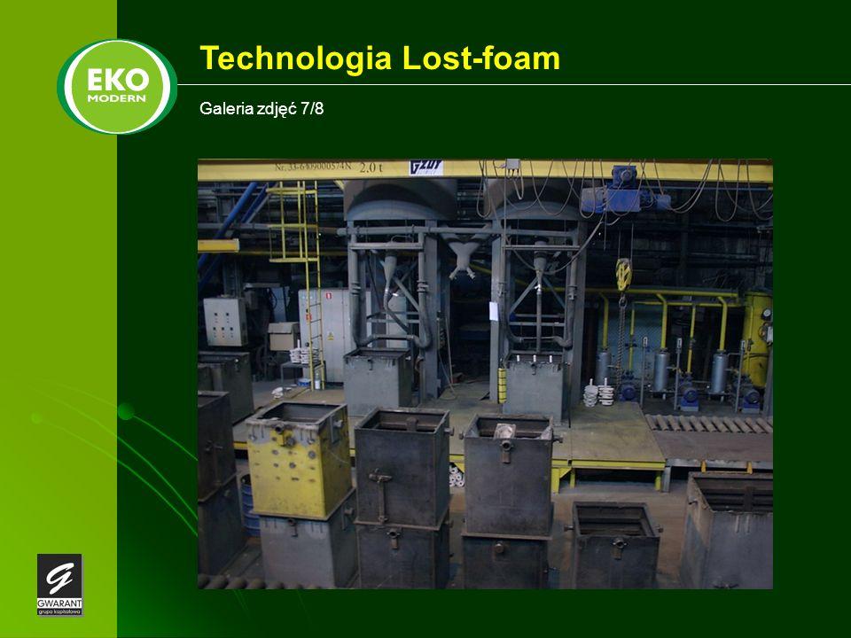 Galeria zdjęć 7/8 Technologia Lost-foam