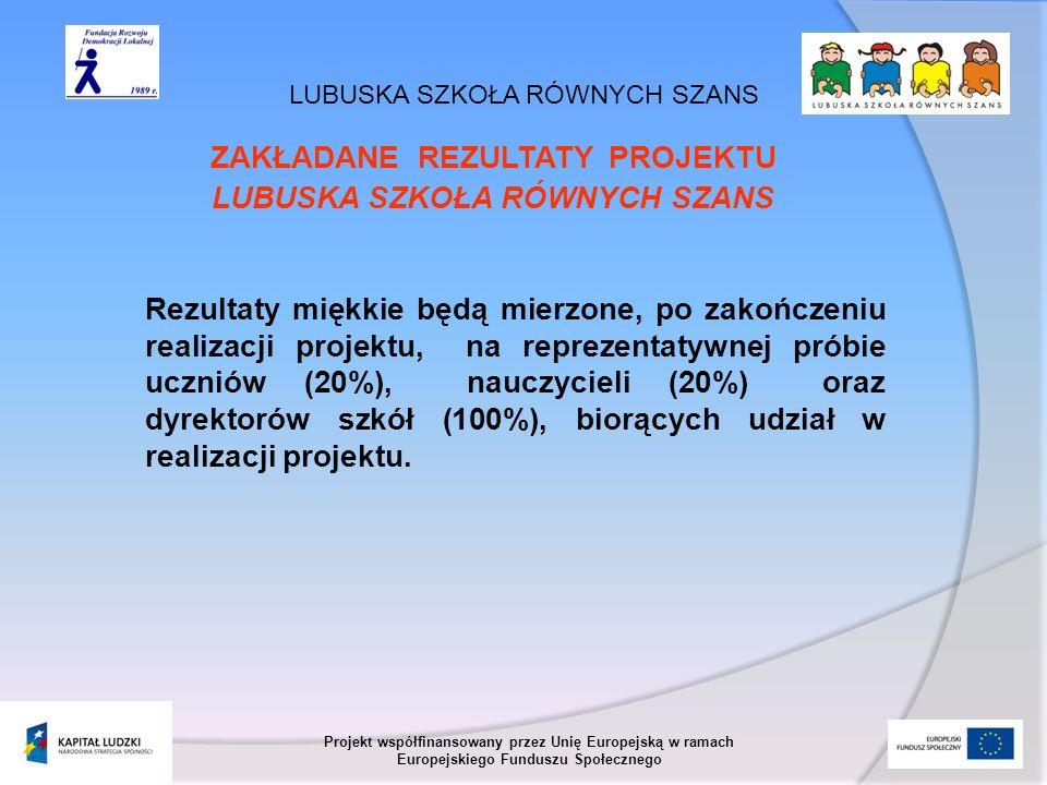 LUBUSKA SZKOŁA RÓWNYCH SZANS Projekt współfinansowany przez Unię Europejską w ramach Europejskiego Funduszu Społecznego Kompetencje kluczowe - definicje 1.