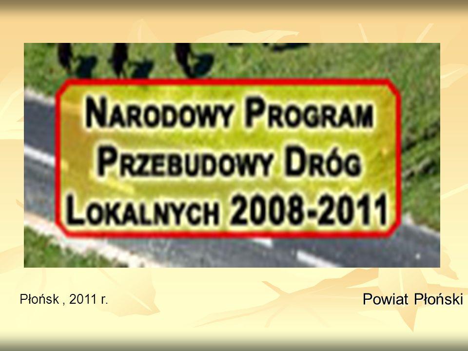 Powiat Płoński Powiat Płoński Płońsk, 2011 r.