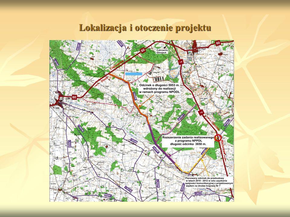 Lokalizacja i otoczenie projektu