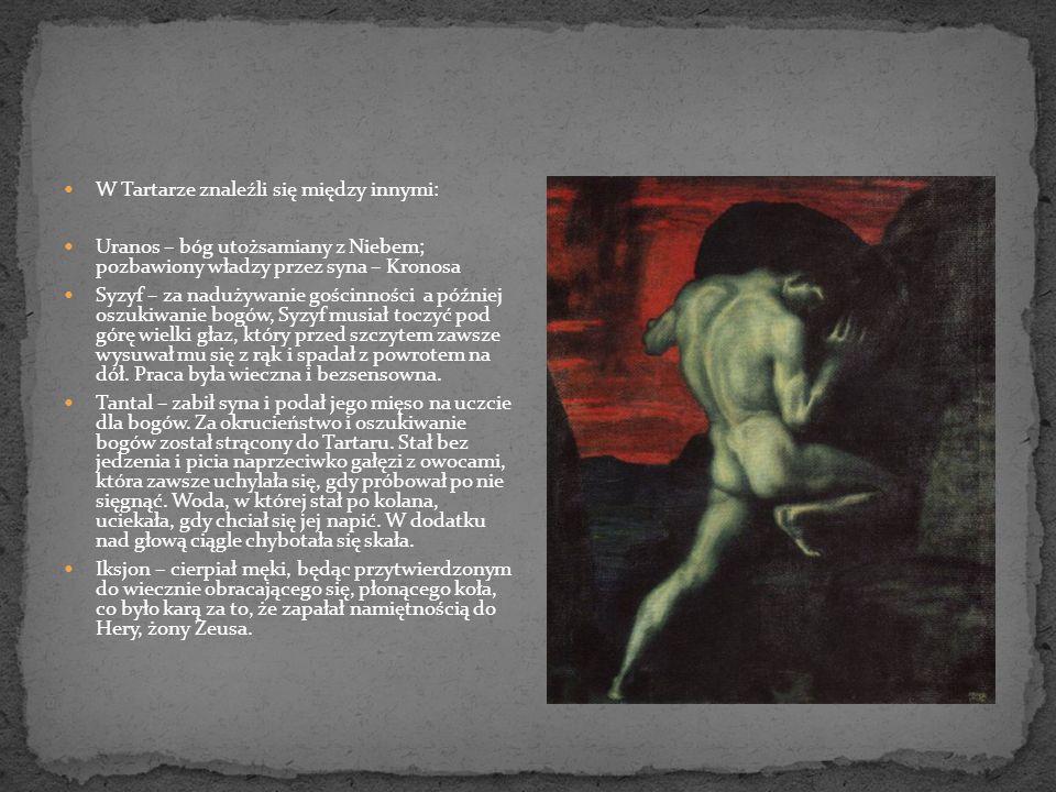 Z Hadesu raczej nie wracało się na ziemię, ale tak jak w całej mitologii Greków, istniały wyjątki od reguły.