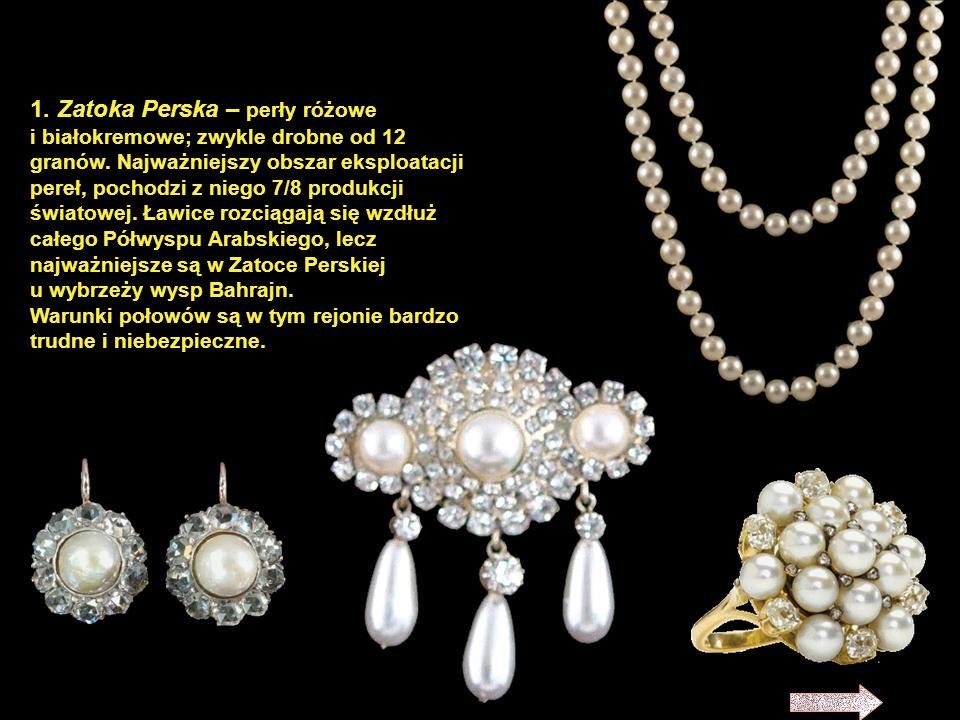 Perły tworzą się w małżach słonowodnych, niektórych małżach słodkowodnych, sporadycznie również w ślimakach. Najczęściej stanowią reakcję na ciało obc