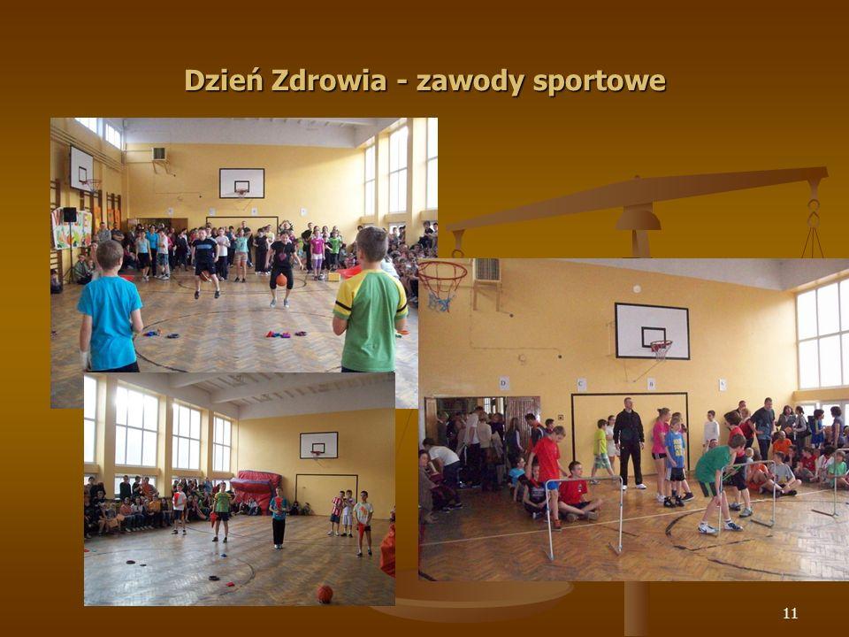 12 Dzień Zdrowia - zawody sportowe