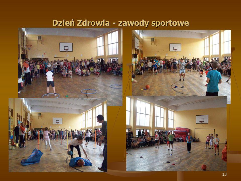 14 Dzień Zdrowia - pokaz taneczny grupy Fitness Junior