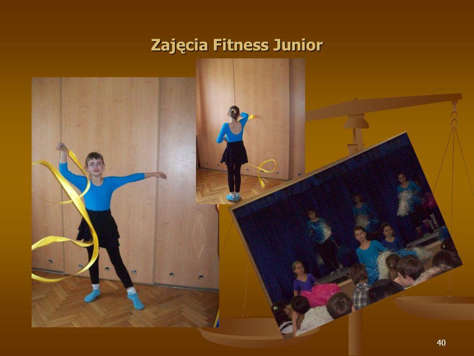 40 Zajęcia Fitness Junior
