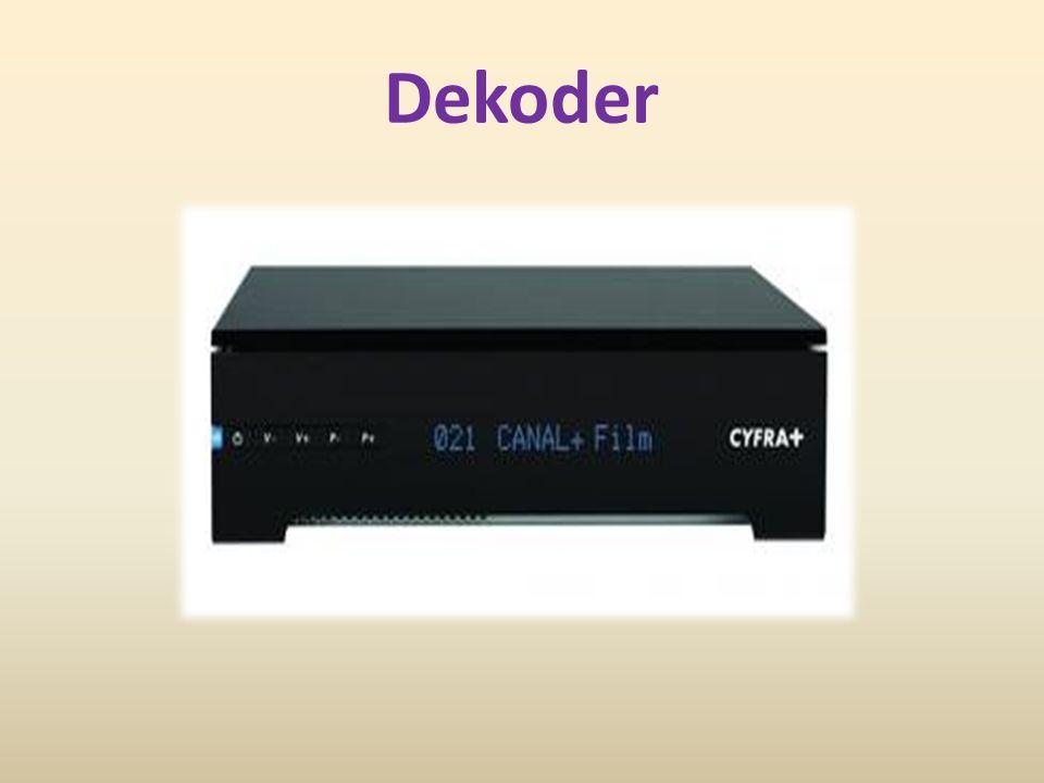 Dekoder należy do klasy układów kombinacyjnych.Jest to układ posiadający wejście oraz wyjście.