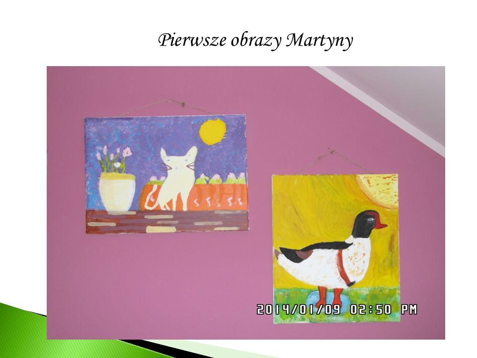 Pierwsze obrazy Martyny