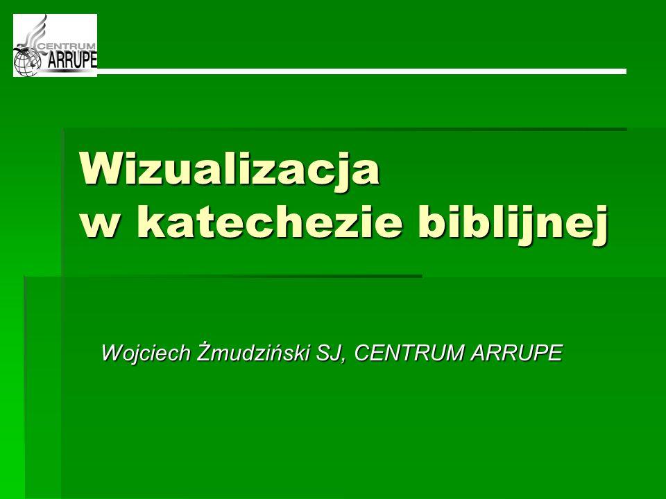 Wizualizacja w katechezie biblijnej Wojciech Żmudziński SJ, CENTRUM ARRUPE