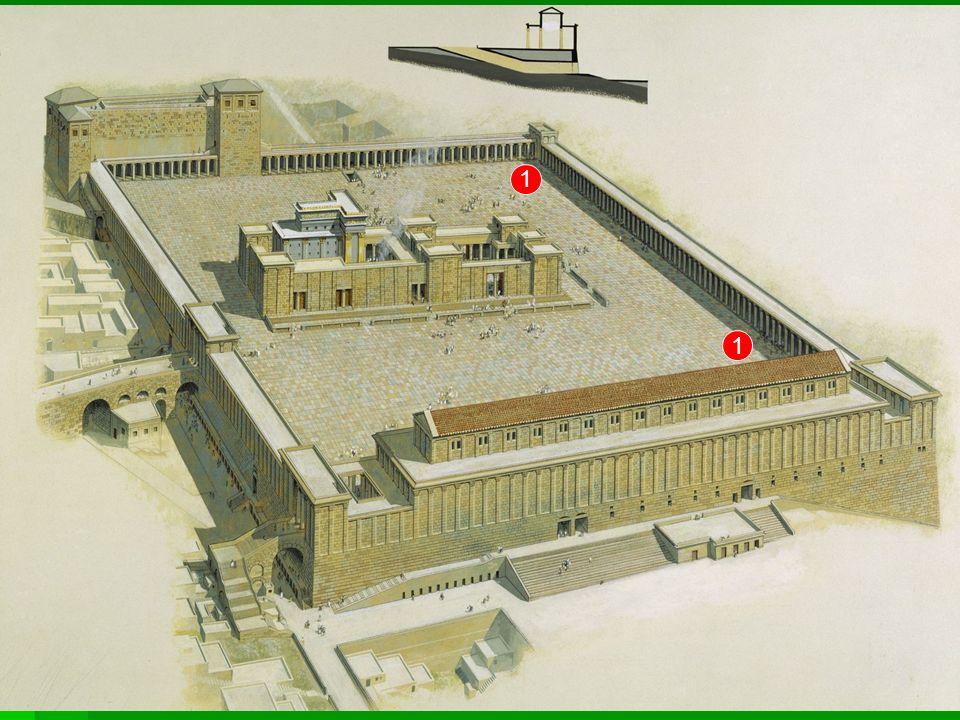 Pod kolumnami Jezus nauczał (Łk 19, 47-48) i zapowiedział zburzenie świątyni (Łk 21,5-7).