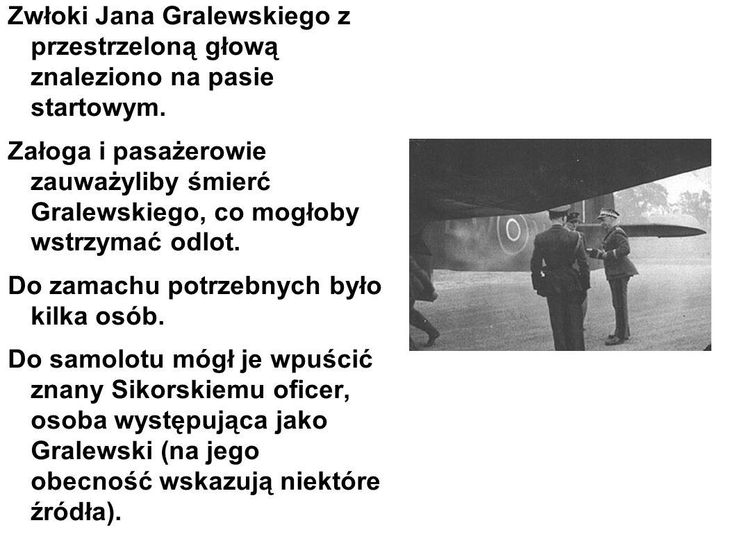 Zwłoki Jana Gralewskiego z przestrzeloną głową znaleziono na pasie startowym.
