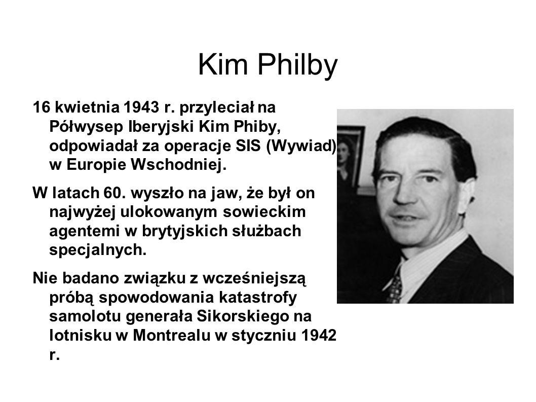 Kim Philby 16 kwietnia 1943 r.