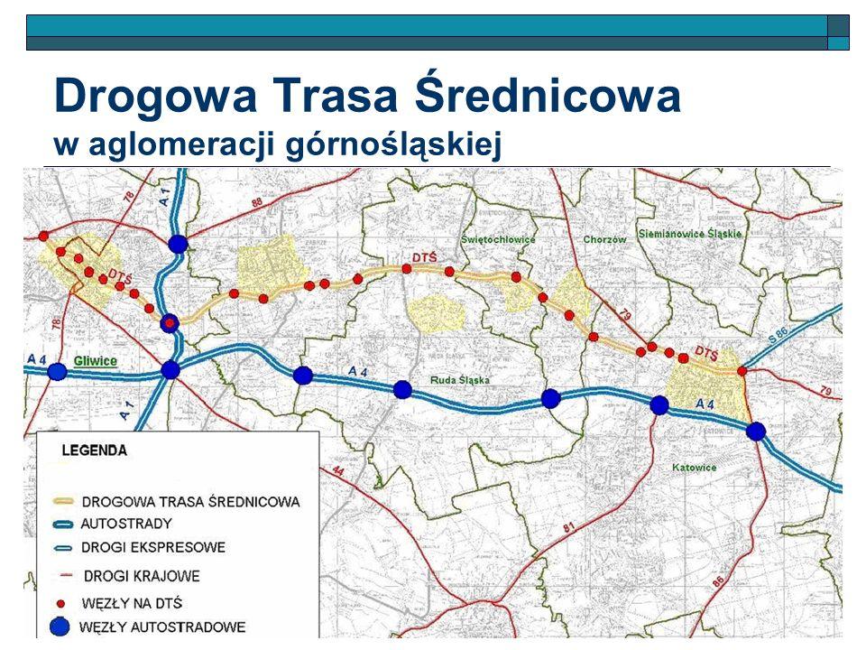 Drogowa Trasa Średnicowa w aglomeracji górnośląskiej