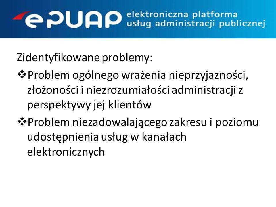 Kierunki rozwoju : Upraszczanie i opisanie procesów obsługi (KUP) Zwiększenie atrakcyjności dostępnych e-usług Profil Zaufany jako alternatywa dla KPE Zwiększenie liczby podmiotów korzystających z e- usług