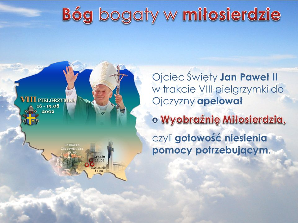 propaguje postawy prospołeczne i wolontariackie wśród małopolskiej młodzieży.