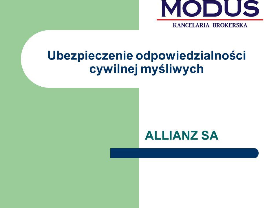 Pakiet dla myśliwych UBEZPIECZENIE OCHRONY PRAWNEJ Zakres ubezpieczenia: Ubezpieczenie pokrywa koszty ochrony prawnej, które ponosi Ubezpieczony w związku z obroną praw przed sądem, występując w charakterze pozwanego, podejrzanego czy oskarżonego oraz pokrywa koszty i opłaty związane z prowadzonym przeciwko niemu postępowaniem sądowym rozpoczętym w okresie trwania ubezpieczenia przed polskimi sądami w postępowaniach prowadzonych w związku z łowiectwem w rozumieniu Prawa Łowieckiego, Ustawy o broni i amunicji, ustawy o ochronie zwierząt oraz Statutem PZŁ.