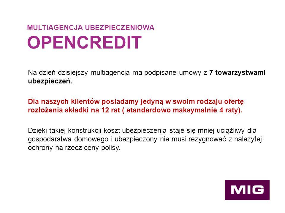 Na dzień dzisiejszy multiagencja ma podpisane umowy z 7 towarzystwami ubezpieczeń.