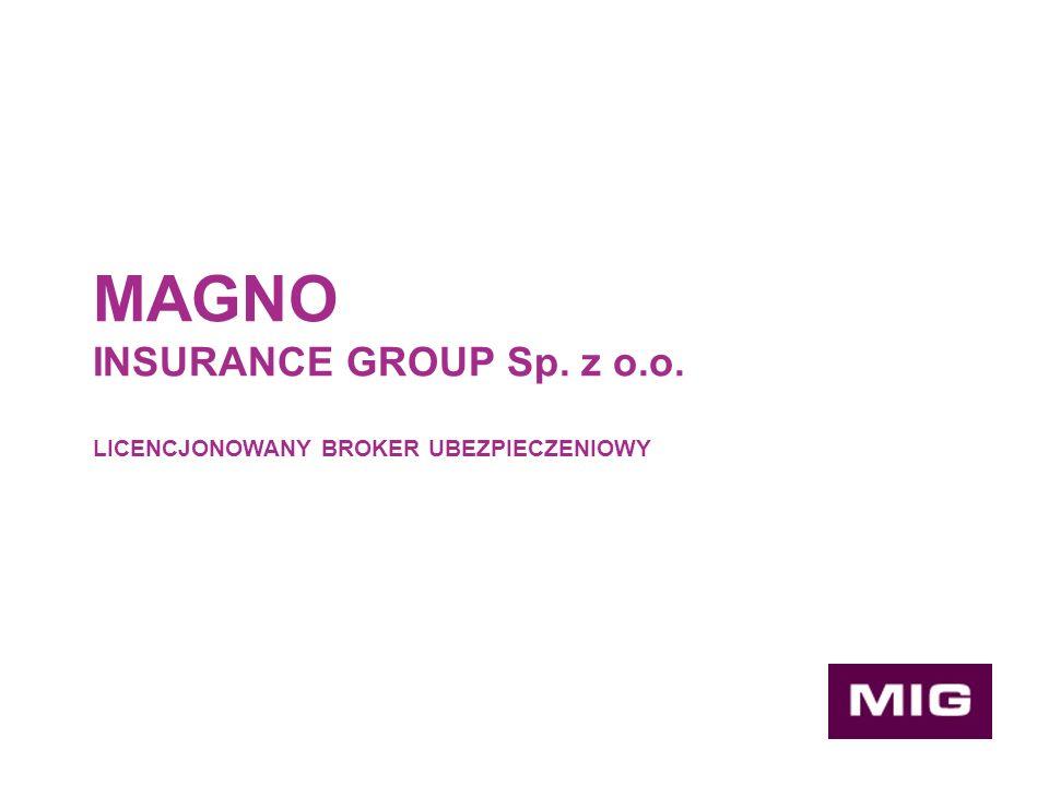 Kancelaria brokerska MAGNO INSURANCE GROUP powstała jako platforma zrzeszająca specjalistów z zakresu ubezpieczeń i prawa.