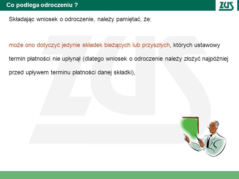 Wniosek i dokumentacja składana przez płatnika Wnioski w sprawie umorzenia należności dostępne będą: Wnioski na stronie www.zus.pl na Sali Obsługi Klientów