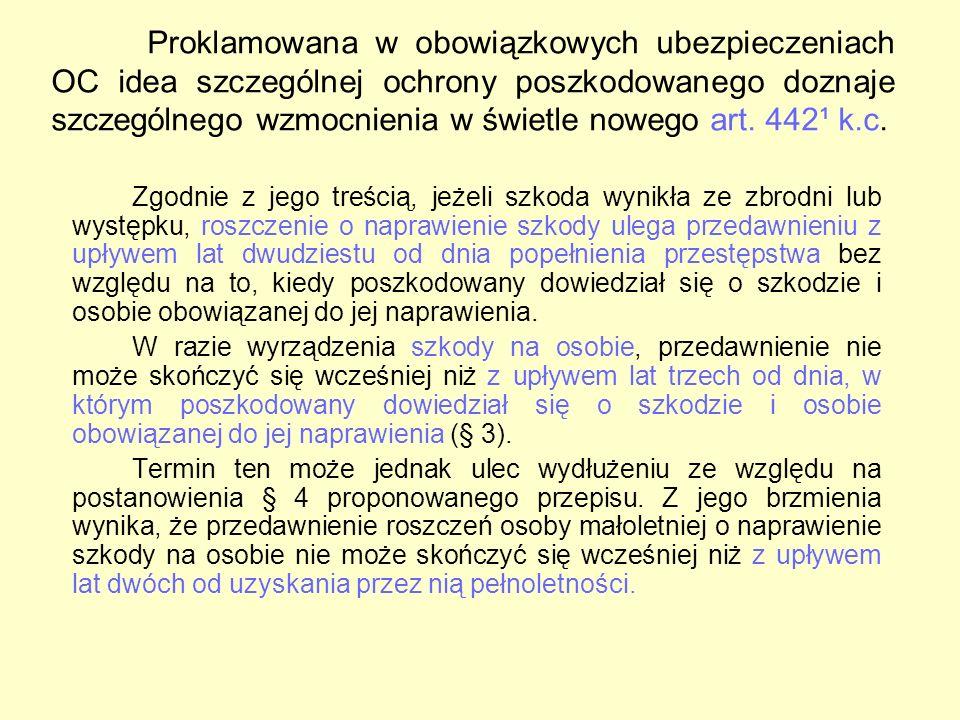 Zagrożenia wynikające pośrednio z transferu usług ubezpieczeniowych oraz ze swobody rynku ubezpieczeniowego: Polski przedsiębiorca prowadzi działalność w Polsce oraz innym kraju Unii Europejskiej, Wchodzi w kooperację z zagranicznym przedsiębiorcą, Dokonuje wyboru OWU polskiego ubezpieczyciela, w kolejnym roku zawiera umowę ubezpieczenia OC z zagranicznym zakładem ubezpieczeń, Wybór prawa właściwego dla umowy ubezpieczenia OC Odpowiedzialność in solidum więcej niż jednego zakładu ubezpieczeń, kwestia rozliczeń regresowych