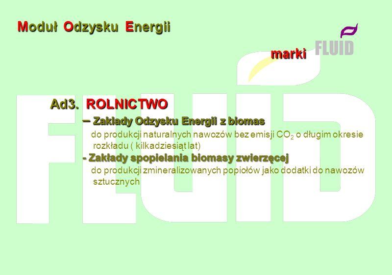 Moduł Odzysku Energii marki FLUID