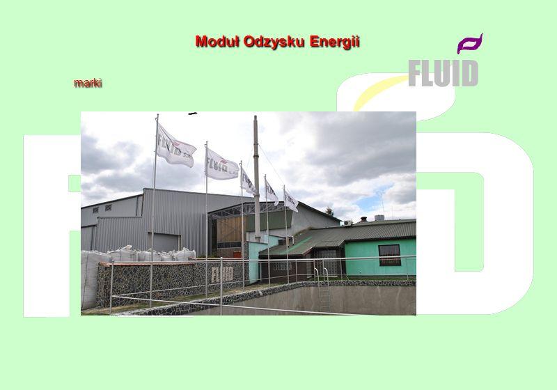 M oduł O dzysku E nergii marki marki FLUID Stan obecny: 1.instalacja Modułu Odzysku Energii jest po wszelkich próbach technologicznych – wydajność do 200 kg biowęgla na godzinę + do 400 kW odnawialnej energii cieplnej sprzedawanej do systemu cieplnego m.Sędziszów 2.