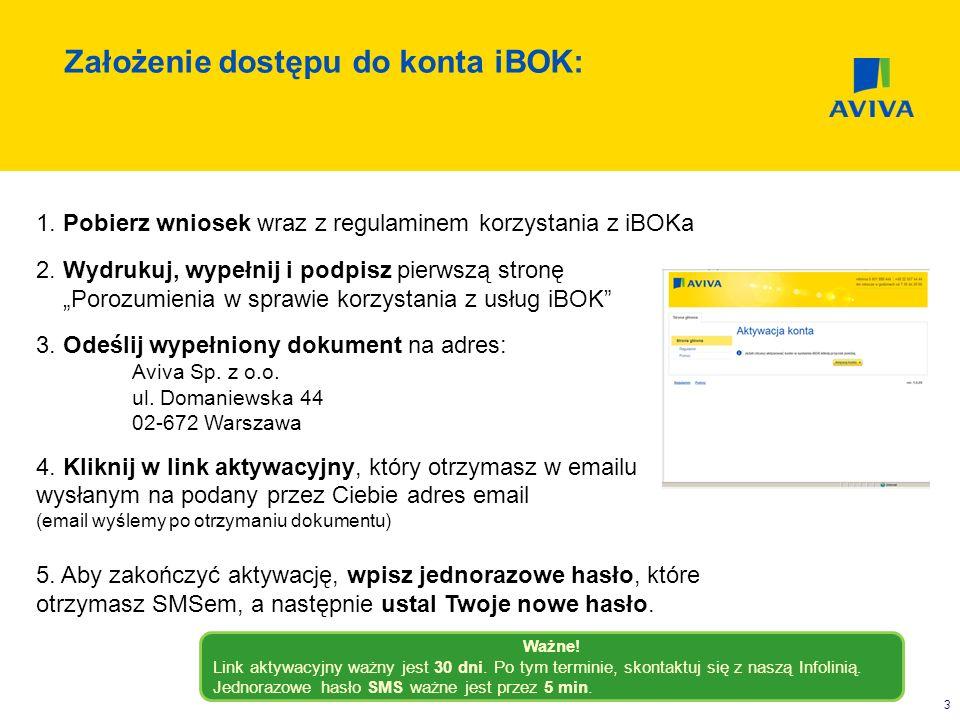 3 Założenie dostępu do konta iBOK: 1. Pobierz wniosek wraz z regulaminem korzystania z iBOKa 2. Wydrukuj, wypełnij i podpisz pierwszą stronę Porozumie