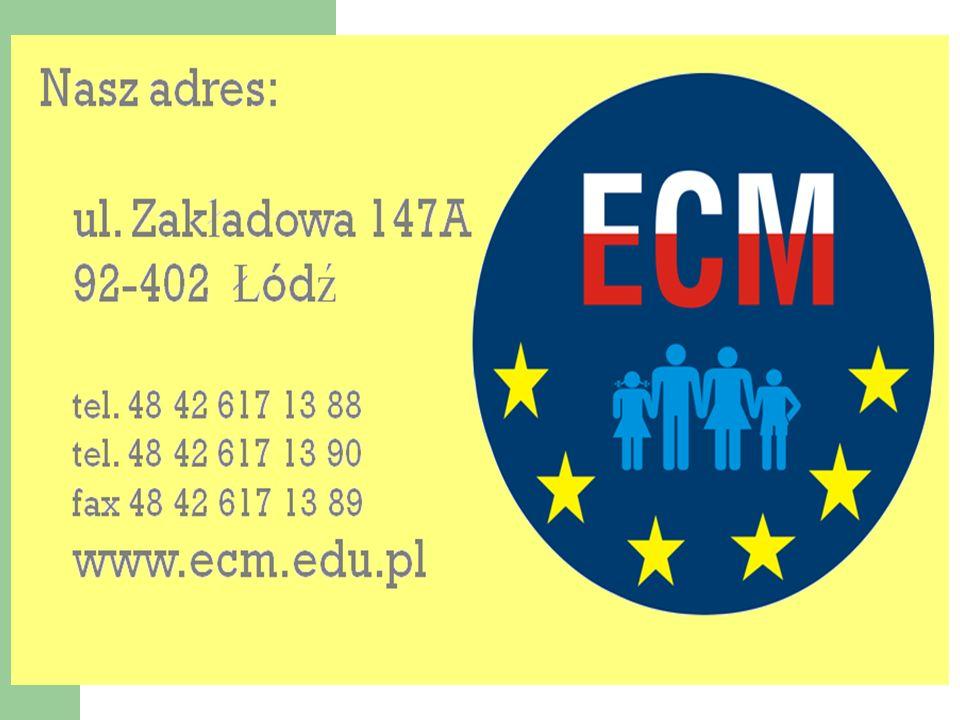 EUROPEJSKIE CENTRUM MŁODZIEŻY wspiera działania władz oświatowych, szkół, organizacji młodzieżowych prowadzących do międzynarodowych kontaktów młodzieży wspiera wymianę naukową, techniczną, turystyczną i sportową młodzieży i ich rodzin, nauczycieli i przyjaciół wydaje podręczniki, czasopisma, broszury, foldery i inne wydawnictwa związane z celami Stowarzyszenia realizuje filmy propagujące międzynarodowe kontakty dzieci i młodzieży