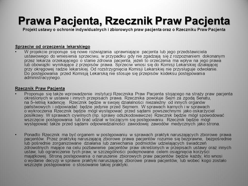Koszyk świadczeń medycznych Koszyk świadczeń medycznych Projekt ustawy o zmianie ustawy o świadczeniach opieki zdrowotnej finansowanych ze środków publicznych.