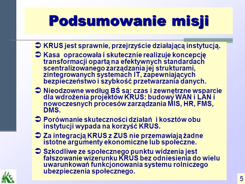 Rekomendacje System KRUS jest korzystny dla rolników i może być bardziej korzystny dla państwa.