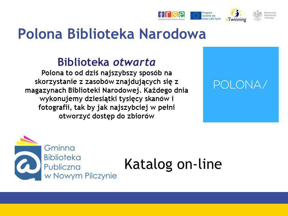 Polona Biblioteka Narodowa Biblioteka otwarta Polona to od dziś najszybszy sposób na skorzystanie z zasobów znajdujących się z magazynach Biblioteki N