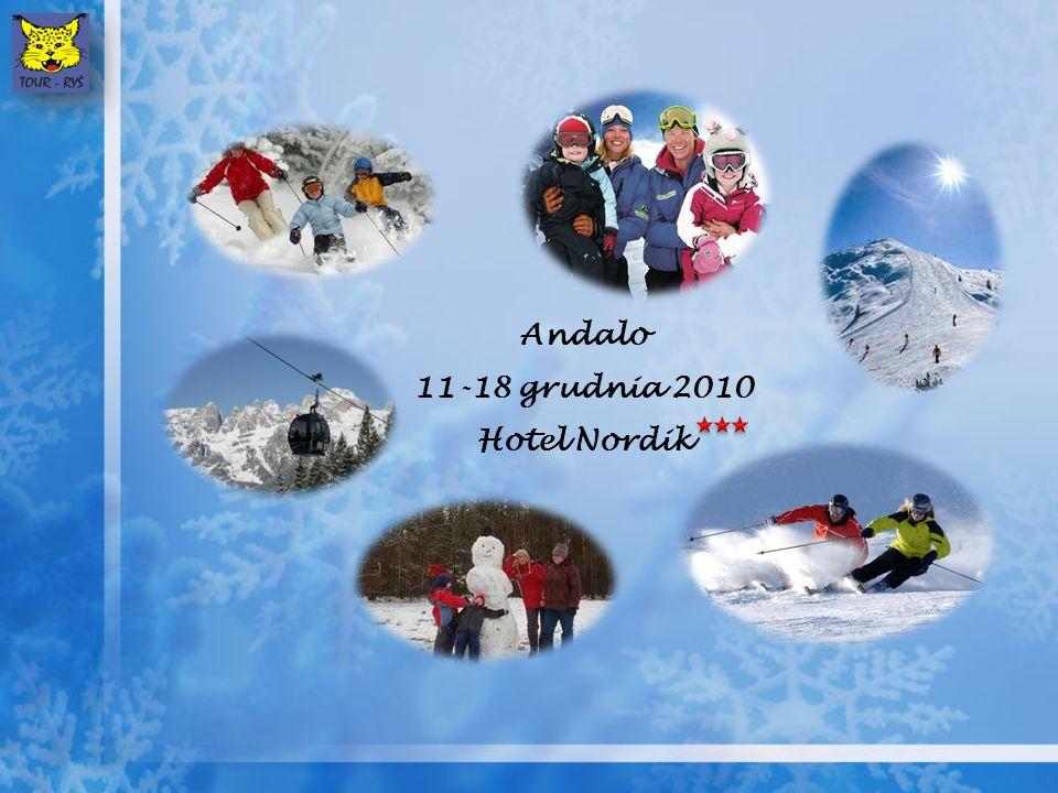 Andalo 11-18 grudnia 2010 Hotel Nordik