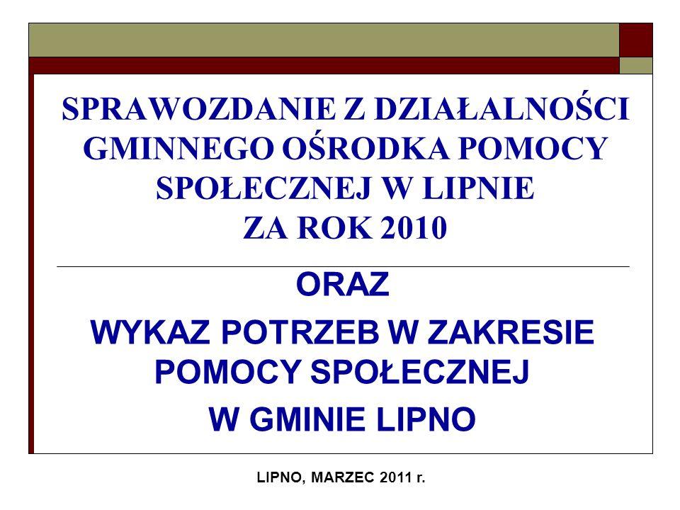 LIPNO, MARZEC 2011 r.