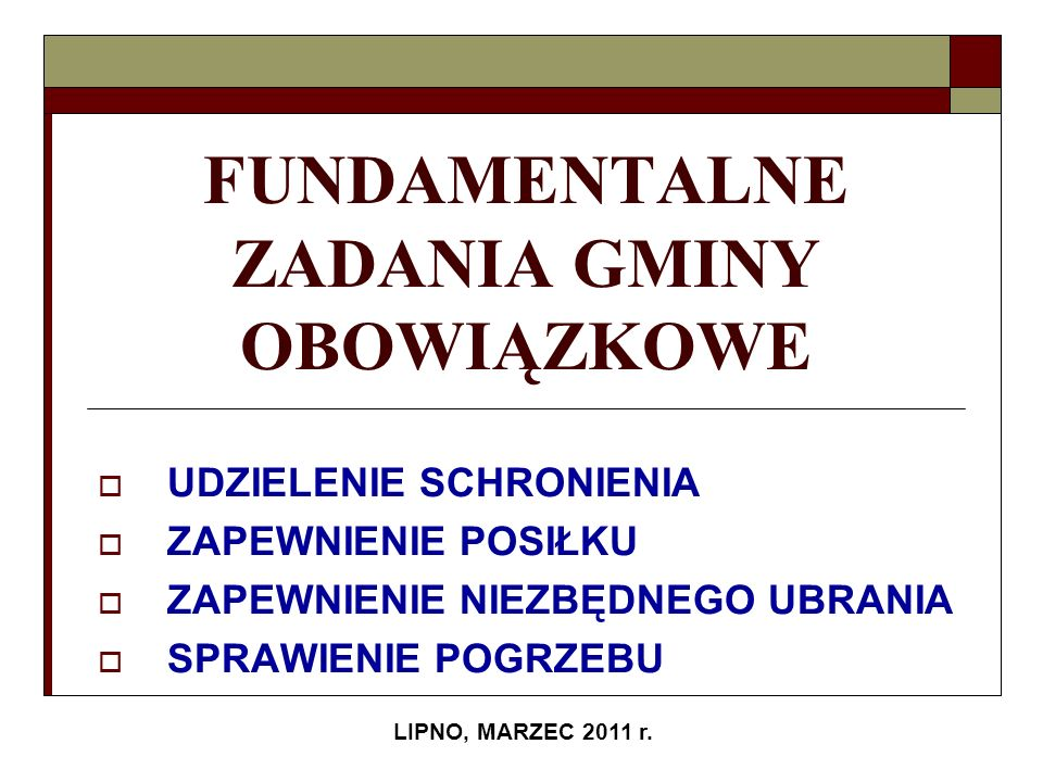 Gminny Ośrodek Pomocy Społecznej w Lipnie wydatkował razem 2 495 207,13 zł.