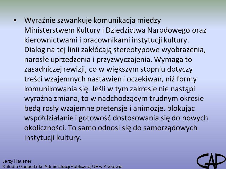Wyraźnie szwankuje komunikacja między Ministerstwem Kultury i Dziedzictwa Narodowego oraz kierownictwami i pracownikami instytucji kultury. Dialog na