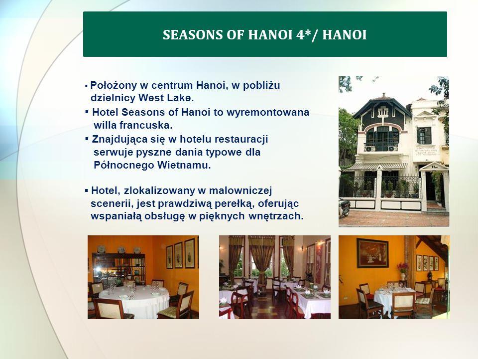 Położony w centrum Hanoi, w pobliżu dzielnicy West Lake.