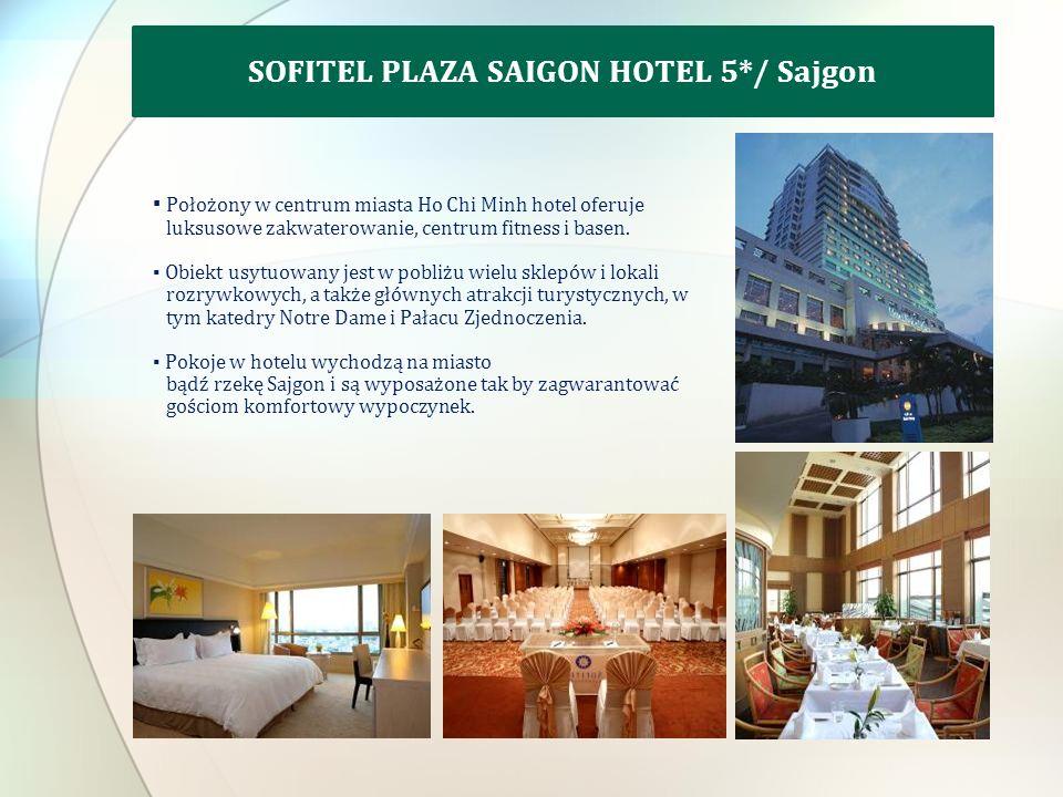 Położony w centrum miasta Ho Chi Minh hotel oferuje luksusowe zakwaterowanie, centrum fitness i basen.