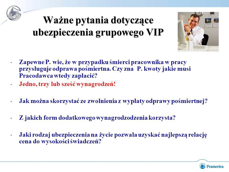 Ważne pytania dotyczące ubezpieczenia grupowego VIP Zapewne P.