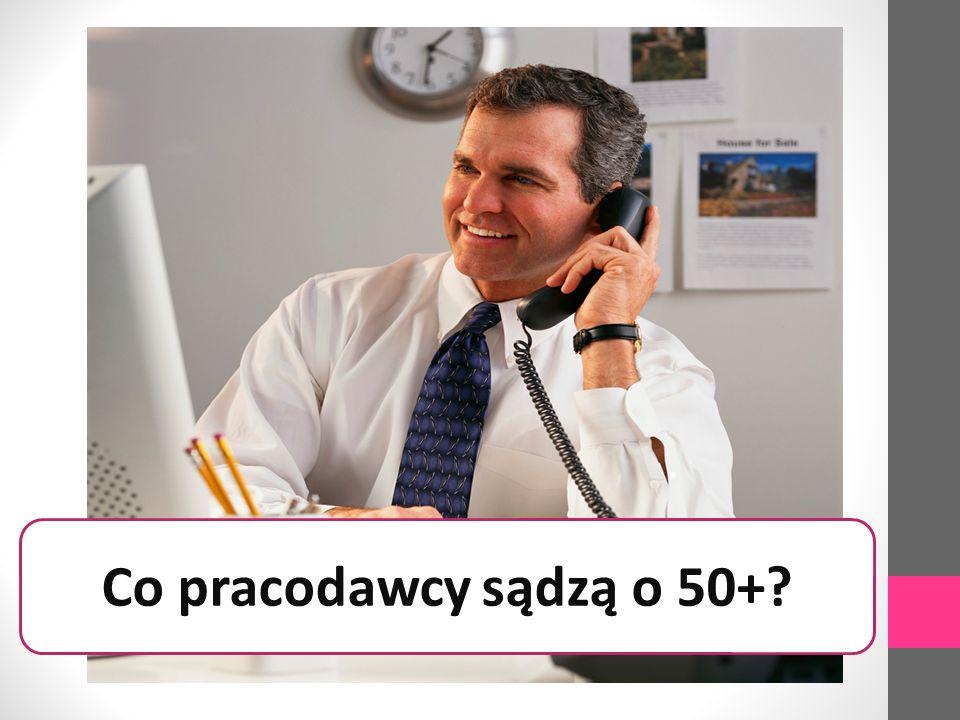 Co pracodawcy sądzą o 50+?