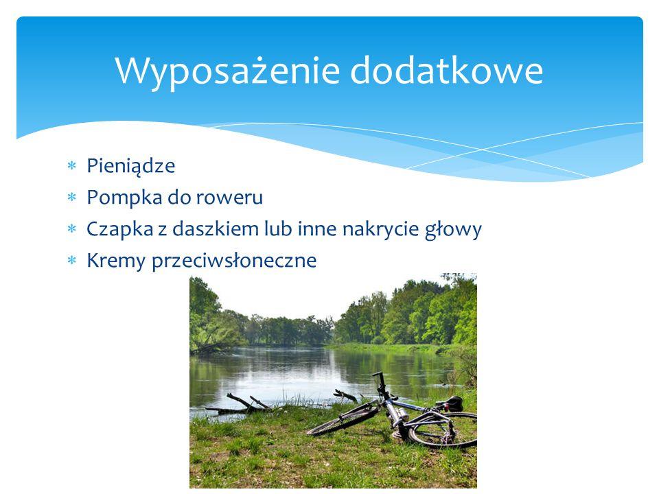 Pieniądze Pompka do roweru Czapka z daszkiem lub inne nakrycie głowy Kremy przeciwsłoneczne Wyposażenie dodatkowe