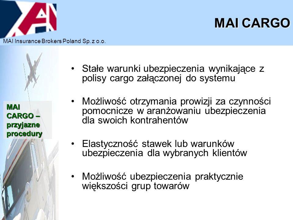 MAI CARGO MAI Insurance Brokers Poland Sp. z o.o.