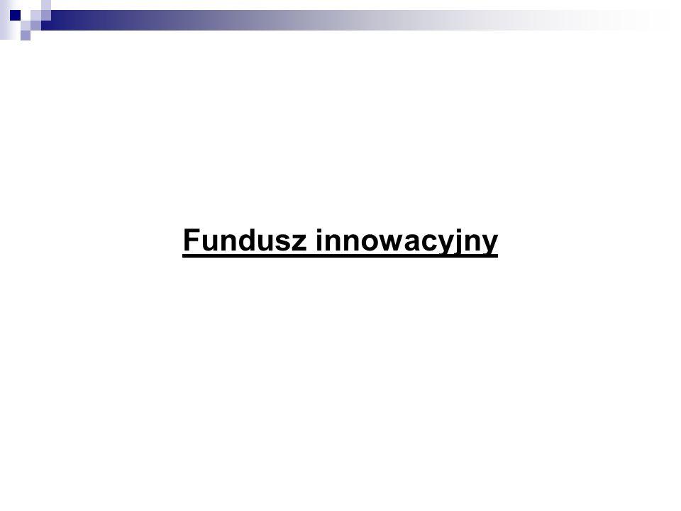 Fundusz innowacyjny