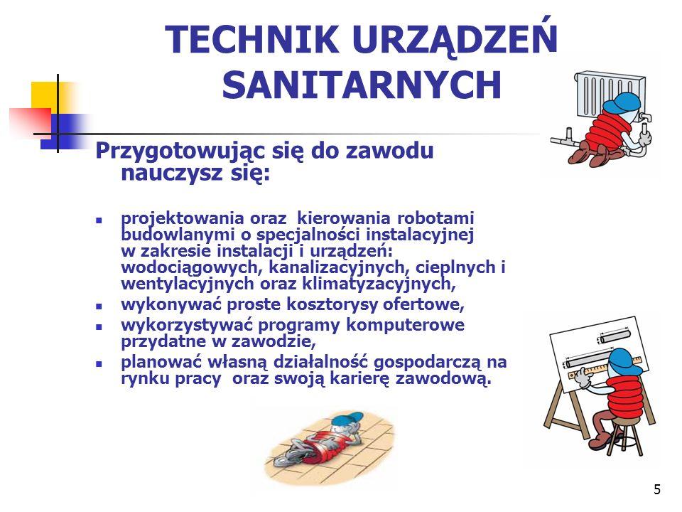 Zajęcia z ogrzewnictwa i wentylacji w technikum urządzeń sanitarnych 6