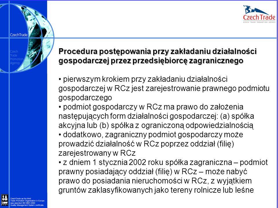 Procedura postępowania przy zakładaniu działalności gospodarczej przez przedsiębiorcę zagranicznego pierwszym krokiem przy zakładaniu działalności gos