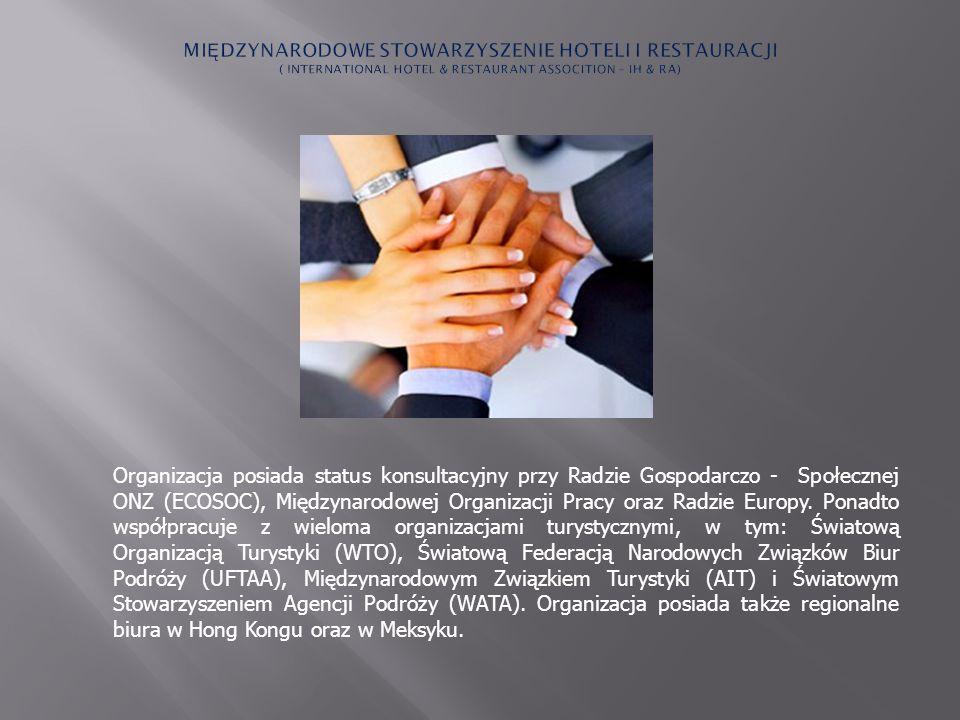 Organizacja posiada status konsultacyjny przy Radzie Gospodarczo - Społecznej ONZ (ECOSOC), Międzynarodowej Organizacji Pracy oraz Radzie Europy. Pona