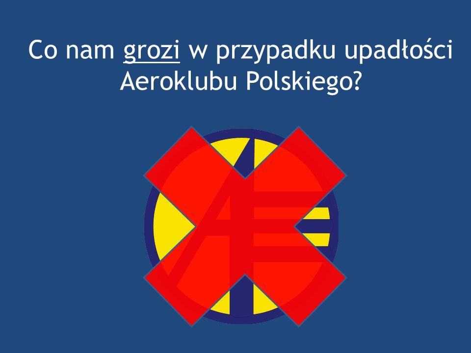 Co nam grozi w przypadku upadłości Aeroklubu Polskiego?