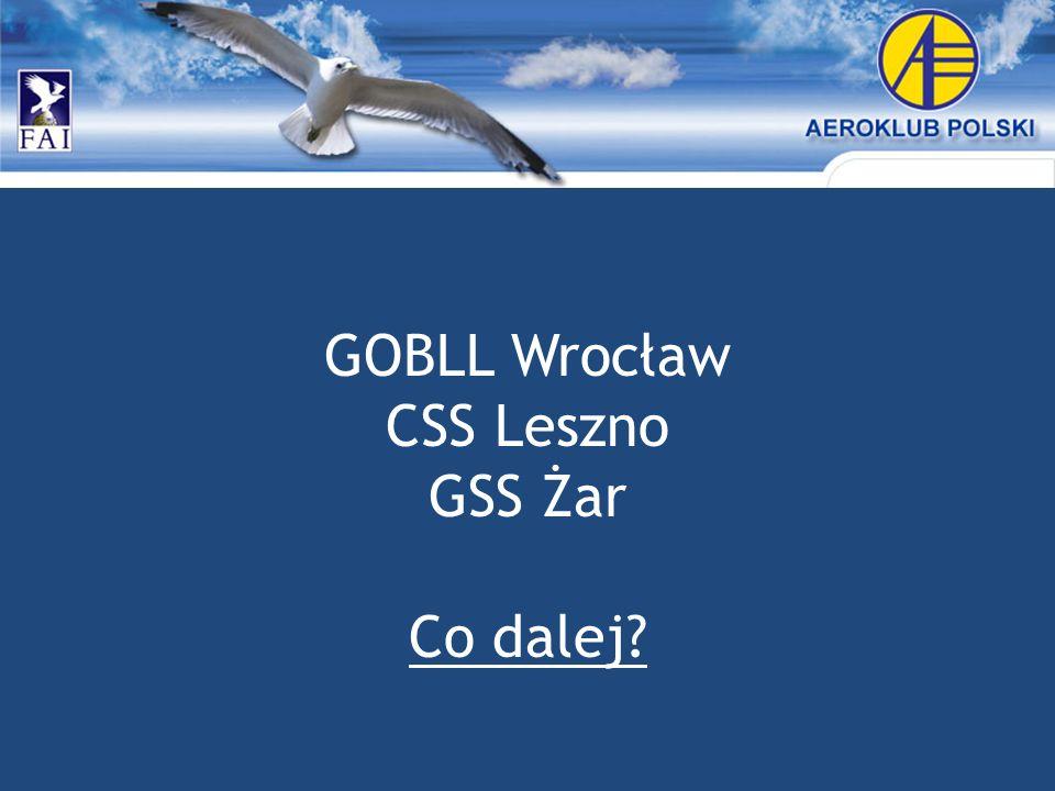 GOBLL Wrocław CSS Leszno GSS Żar Co dalej?