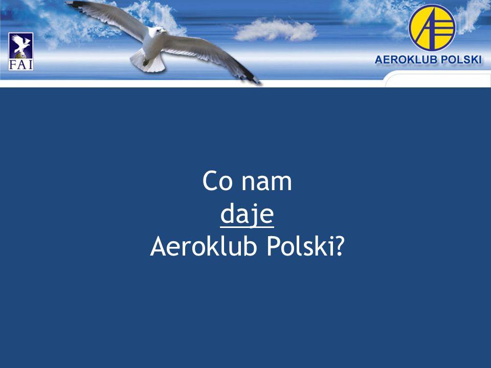 Co nam daje Aeroklub Polski?