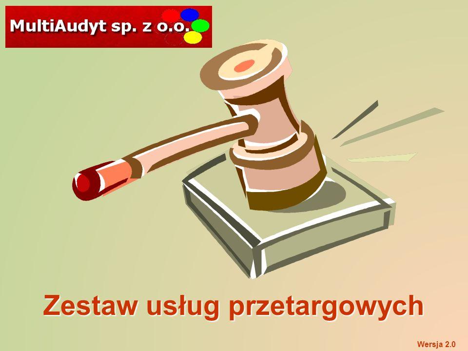 Zestaw usług przetargowych Wersja 2.0
